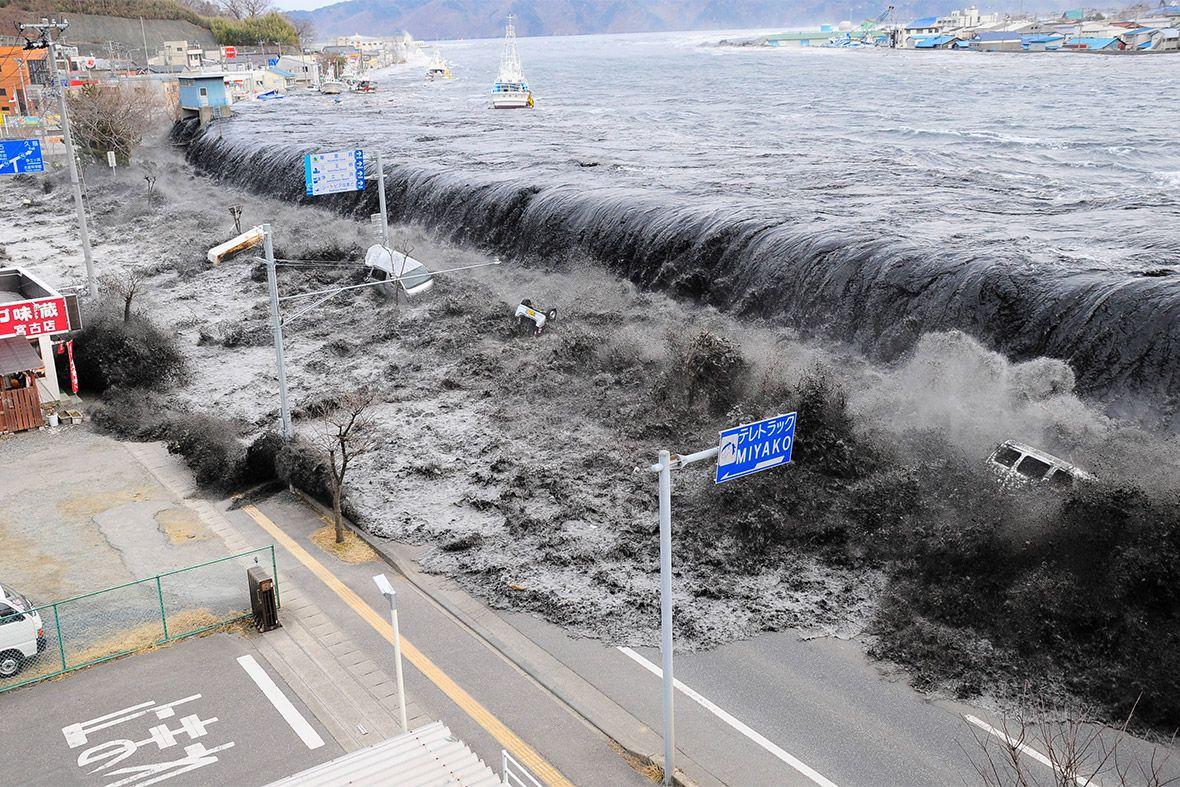 Inondazione 11 marzo 2011 giappone